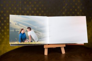 Engagement pictures photo guest book, stunning pre-wedding photography in London and Kent