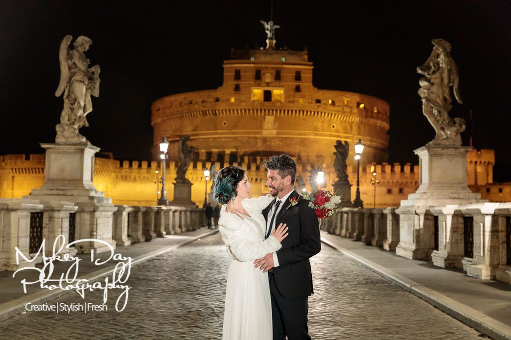 Rome Night Time Wedding Jessica & Aldo www.MykeyDay-Photography.com-27