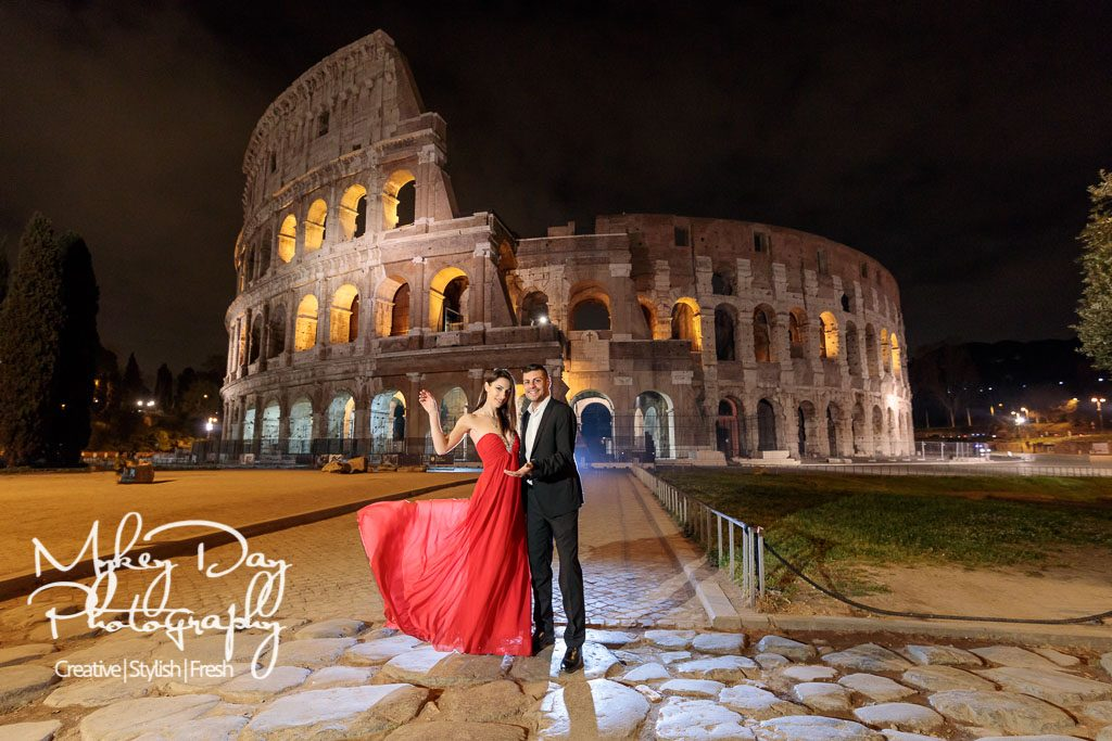 Tania-Mirko-Rome-Colosseum-Pre-Wedding-Photography-www.MykeyDay-Photography.com-16-1024x683 Engagement Pictures and Pre-Wedding Sessions: Tips and Advice