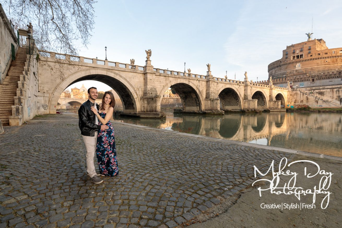 Rome Pre-wedding engagement photos wedding photography in Roma