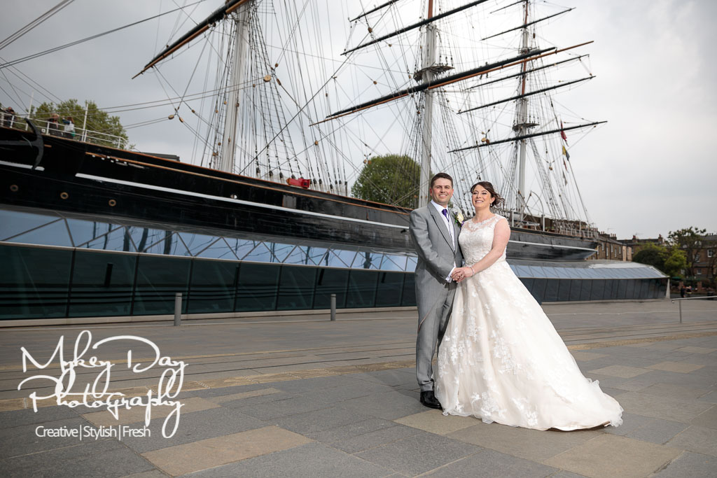 London Wedding Photography Thames Luxury Cruises Wedding Cutty Sark