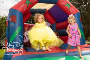Wedding-Entertrainment-ideas-in-Kent-and-Essex-Flower-Girl-on-Bouncy-Castle-Article-1-300x200 Wedding Entertainment Ideas