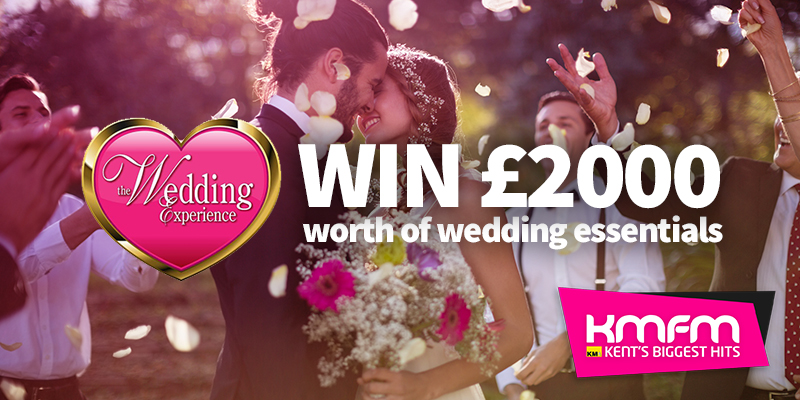 Win-2000-Wedding-Experience Win £2000 towards the Wedding of your Dreams!
