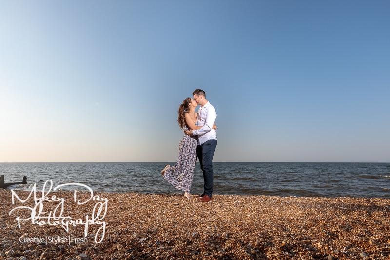 Whitstable-Sunset-Engagement-Pre-Wedding-Photos-Kent-Wedding-www.MykeyDay-Photography.com-12 Whitstable Sunset Engagement Photography - Rachel & Michael