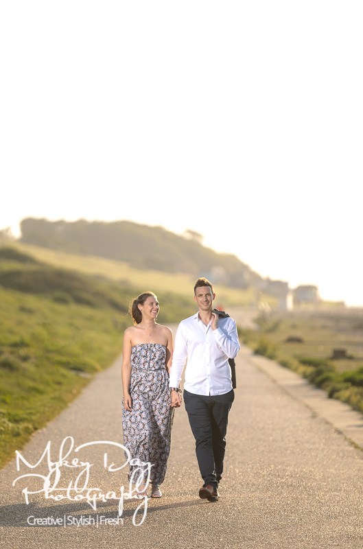 Whitstable-Sunset-Engagement-Pre-Wedding-Photos-Kent-Wedding-www.MykeyDay-Photography.com-17 Whitstable Sunset Engagement Photography - Rachel & Michael