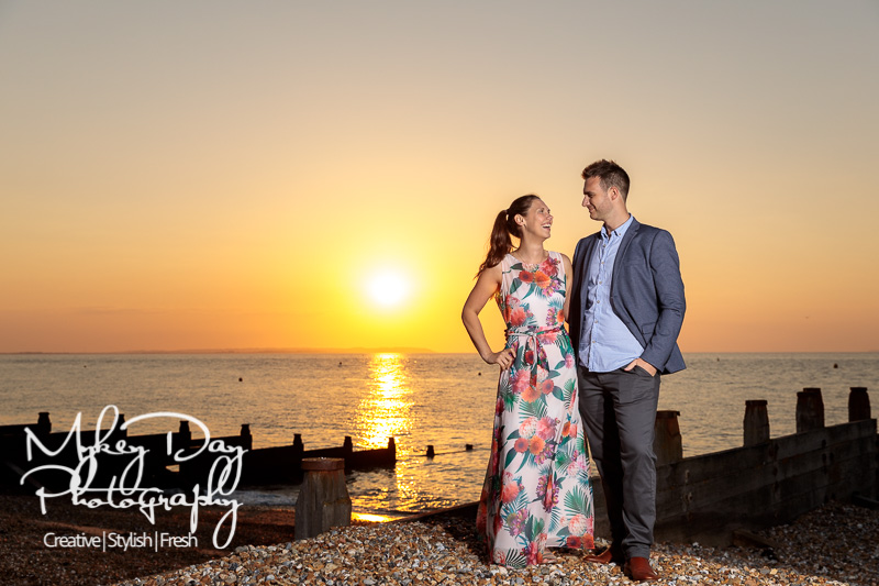 Whitstable-Sunset-Engagement-Pre-Wedding-Photos-Kent-Wedding-www.MykeyDay-Photography.com-27 Whitstable Sunset Engagement Photography - Rachel & Michael