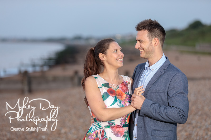 Whitstable-Sunset-Engagement-Pre-Wedding-Photos-Kent-Wedding-www.MykeyDay-Photography.com-35 Whitstable Sunset Engagement Photography - Rachel & Michael