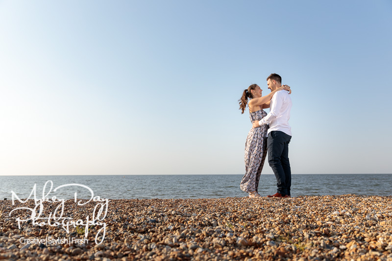 Whitstable-Sunset-Engagement-Pre-Wedding-Photos-Kent-Wedding-www.MykeyDay-Photography.com-9 Whitstable Sunset Engagement Photography - Rachel & Michael
