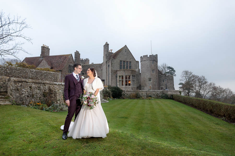 Lympne-Castle-Weddings-Wedding-Photography-Kent-Chelsea-Matt-www.MykeyDay-Photography.com-64 Lympne Castle Winter Wedding - Chelsea & Matt