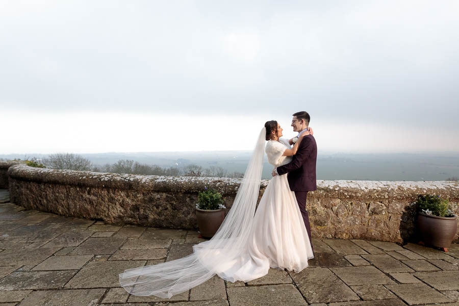 Lympne-Castle-Weddings-Wedding-Photography-Kent-Chelsea-Matt-www.MykeyDay-Photography.com-67 Lympne Castle Winter Wedding - Chelsea & Matt