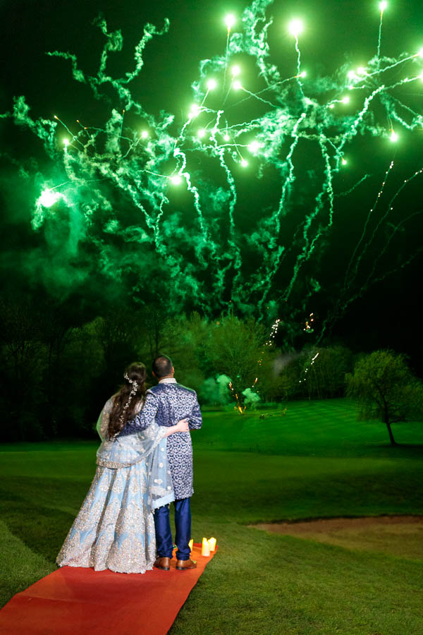 London-Wedding-Fireworks-and-Sparklers-Westerham-Wedding-Venue-Ressie-www.MykeyDay-Photography.com-114 London Wedding Photography at Westerham GC