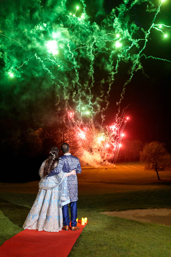 London-Wedding-Fireworks-and-Sparklers-Westerham-Wedding-Venue-Ressie-www.MykeyDay-Photography.com-115 London Wedding Photography at Westerham GC