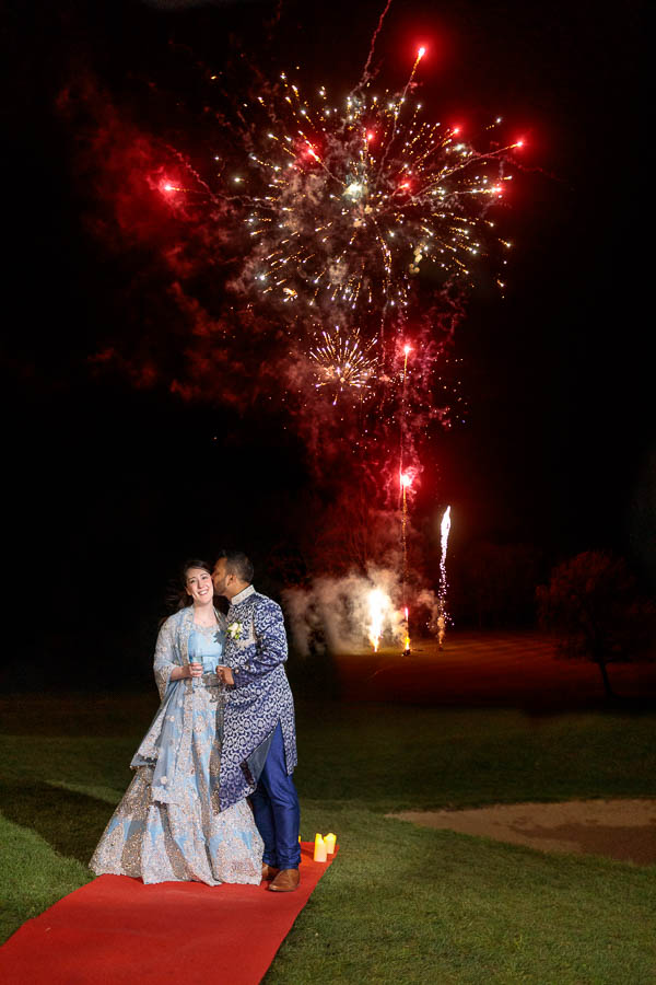 London-Wedding-Fireworks-and-Sparklers-Westerham-Wedding-Venue-Ressie-www.MykeyDay-Photography.com-116 London Wedding Photography at Westerham GC