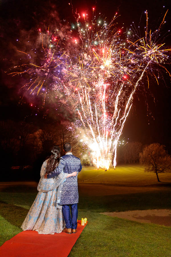 London-Wedding-Fireworks-and-Sparklers-Westerham-Wedding-Venue-Ressie-www.MykeyDay-Photography.com-117 London Wedding Photography at Westerham GC