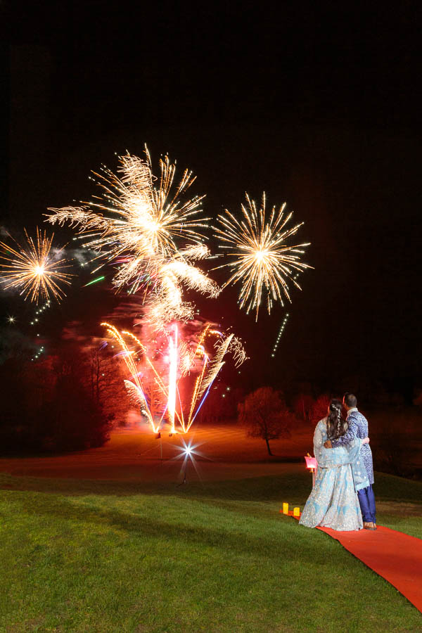 London-Wedding-Fireworks-and-Sparklers-Westerham-Wedding-Venue-Ressie-www.MykeyDay-Photography.com-118 London Wedding Photography at Westerham GC