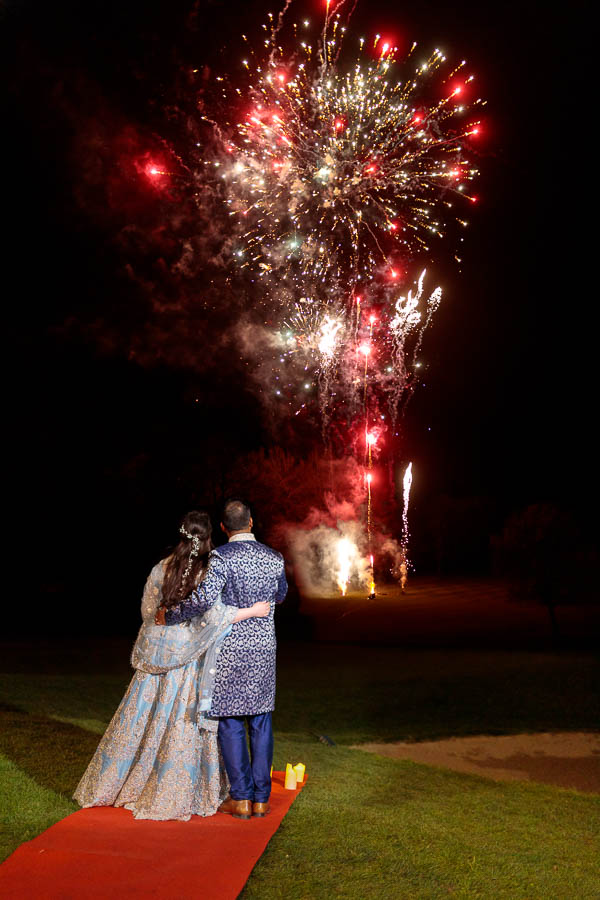 London-Wedding-Fireworks-and-Sparklers-Westerham-Wedding-Venue-Ressie-www.MykeyDay-Photography.com-120 London Wedding Photography at Westerham GC