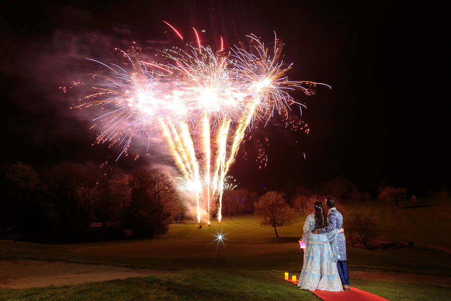 London-Wedding-Fireworks-and-Sparklers-Westerham-Wedding-Venue-Ressie-www.MykeyDay-Photography.com-121 London Wedding Photography at Westerham GC
