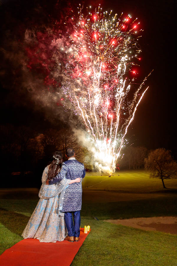 London-Wedding-Fireworks-and-Sparklers-Westerham-Wedding-Venue-Ressie-www.MykeyDay-Photography.com-122 London Wedding Photography at Westerham GC