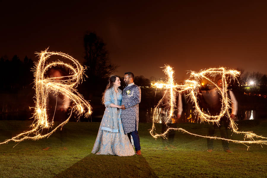 London-Wedding-Fireworks-and-Sparklers-Westerham-Wedding-Venue-Ressie-www.MykeyDay-Photography.com-124 London Wedding Photography at Westerham GC