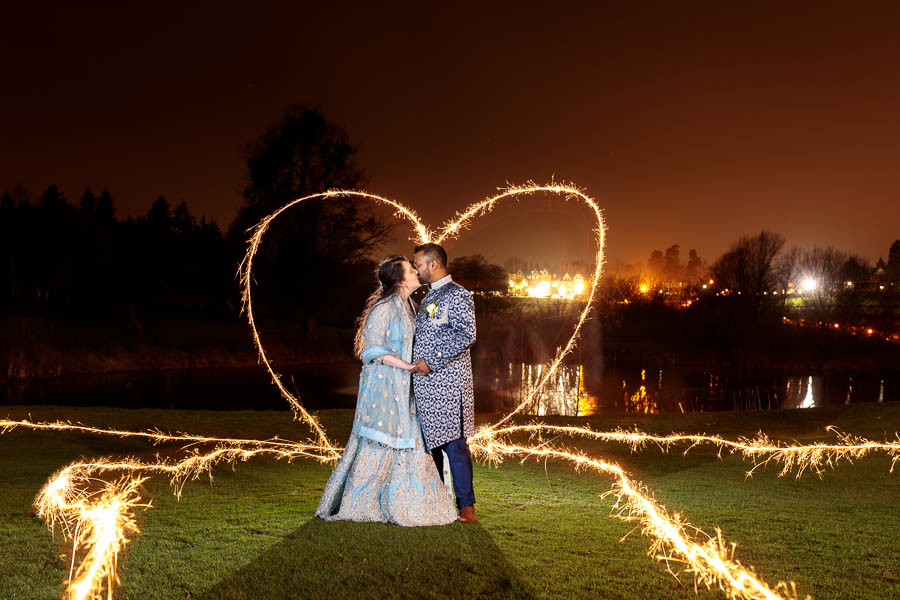 London-Wedding-Fireworks-and-Sparklers-Westerham-Wedding-Venue-Ressie-www.MykeyDay-Photography.com-125 London Wedding Photography at Westerham GC