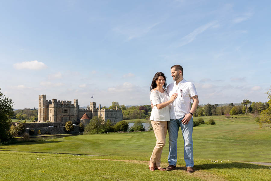 Leeds-Castle-Wedding-Photography-Denise-Paul-Engagement-Photos-www.MykeyDay-Photography.com-1 Leeds Castle Wedding Maidstone Engagement Photography