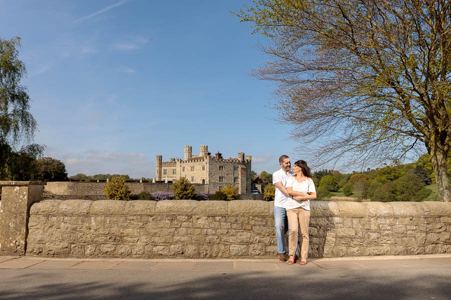 Leeds-Castle-Wedding-Photography-Denise-Paul-Engagement-Photos-www.MykeyDay-Photography.com-12 Leeds Castle Wedding Maidstone Engagement Photography