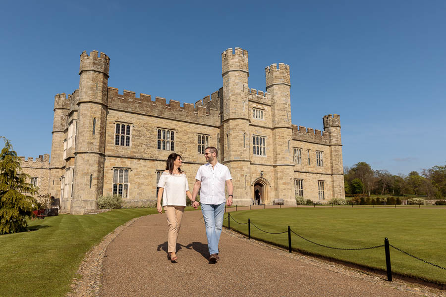 Leeds-Castle-Wedding-Photography-Denise-Paul-Engagement-Photos-www.MykeyDay-Photography.com-13 Leeds Castle Wedding Maidstone Engagement Photography