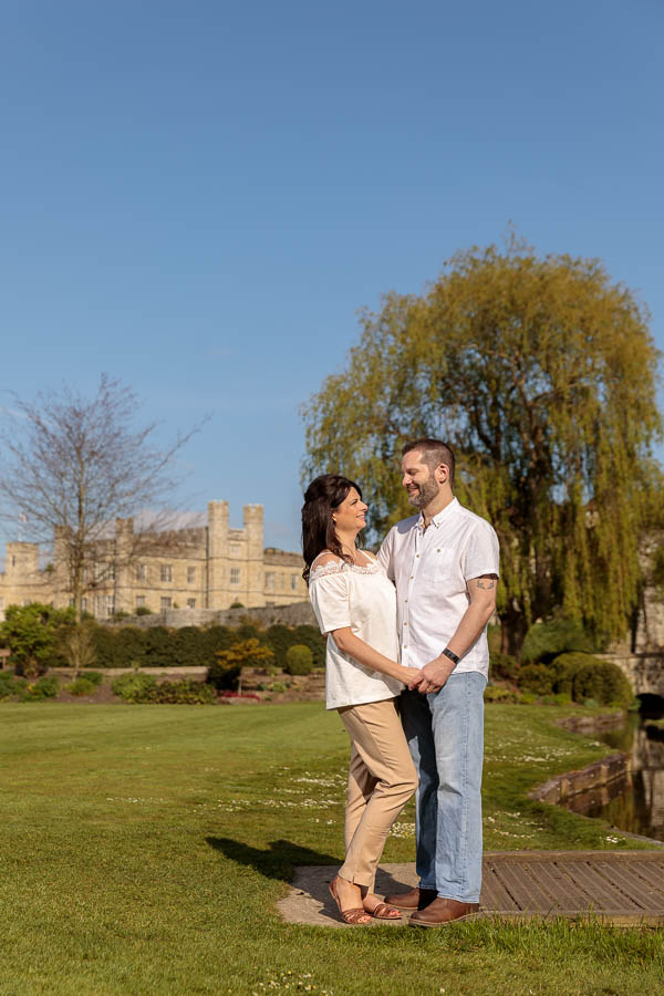 Leeds-Castle-Wedding-Photography-Denise-Paul-Engagement-Photos-www.MykeyDay-Photography.com-17 Leeds Castle Wedding Maidstone Engagement Photography