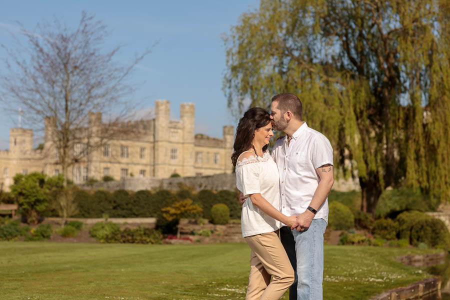 Leeds-Castle-Wedding-Photography-Denise-Paul-Engagement-Photos-www.MykeyDay-Photography.com-18 Leeds Castle Wedding Maidstone Engagement Photography