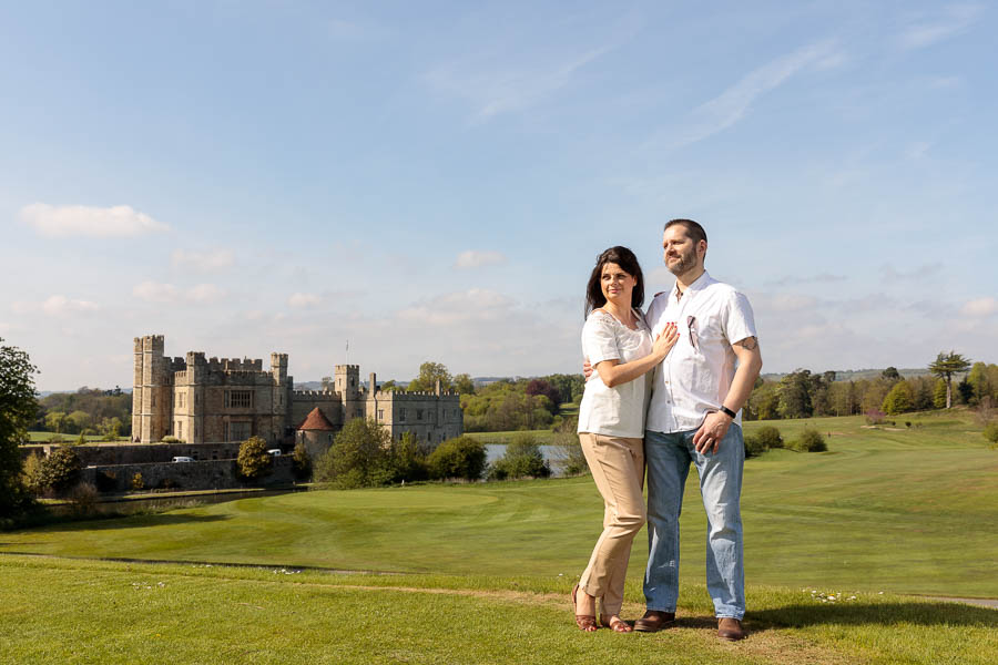 Leeds-Castle-Wedding-Photography-Denise-Paul-Engagement-Photos-www.MykeyDay-Photography.com-2 Leeds Castle Wedding Maidstone Engagement Photography
