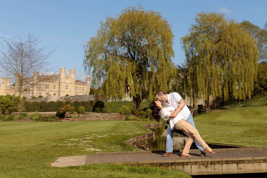 Leeds-Castle-Wedding-Photography-Denise-Paul-Engagement-Photos-www.MykeyDay-Photography.com-23 Leeds Castle Wedding Maidstone Engagement Photography