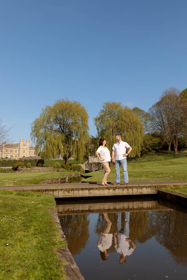 Leeds-Castle-Wedding-Photography-Denise-Paul-Engagement-Photos-www.MykeyDay-Photography.com-26 Leeds Castle Wedding Maidstone Engagement Photography