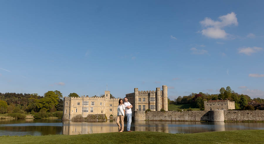 Leeds-Castle-Wedding-Photography-Denise-Paul-Engagement-Photos-www.MykeyDay-Photography.com-29 Leeds Castle Wedding Maidstone Engagement Photography