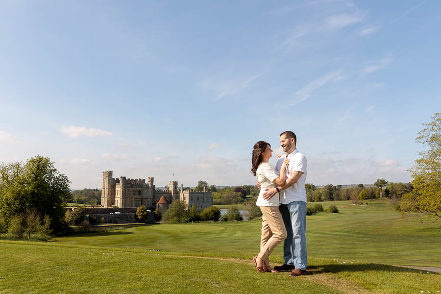 Leeds-Castle-Wedding-Photography-Denise-Paul-Engagement-Photos-www.MykeyDay-Photography.com-3 Leeds Castle Wedding Maidstone Engagement Photography