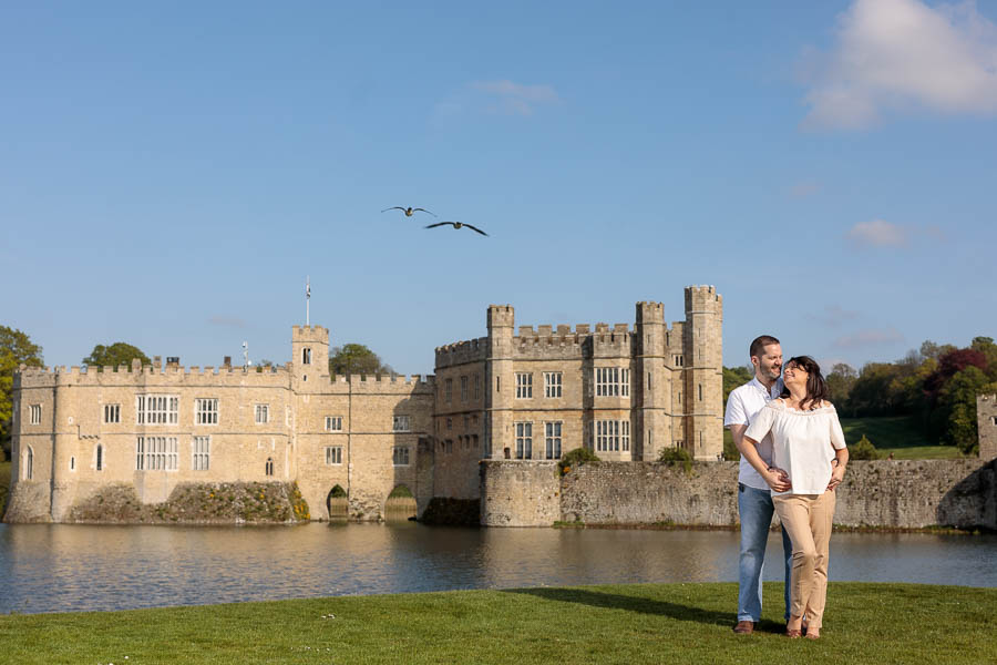 Leeds-Castle-Wedding-Photography-Denise-Paul-Engagement-Photos-www.MykeyDay-Photography.com-31 Leeds Castle Wedding Maidstone Engagement Photography