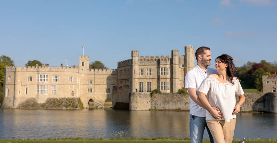 Leeds-Castle-Wedding-Photography-Denise-Paul-Engagement-Photos-www.MykeyDay-Photography.com-32 Leeds Castle Wedding Maidstone Engagement Photography