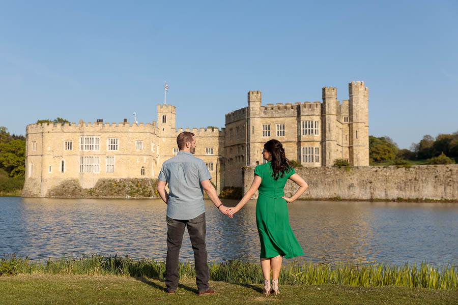 Leeds-Castle-Wedding-Photography-Denise-Paul-Engagement-Photos-www.MykeyDay-Photography.com-39 Leeds Castle Wedding Maidstone Engagement Photography