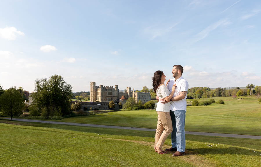 Leeds-Castle-Wedding-Photography-Denise-Paul-Engagement-Photos-www.MykeyDay-Photography.com-4 Leeds Castle Wedding Maidstone Engagement Photography