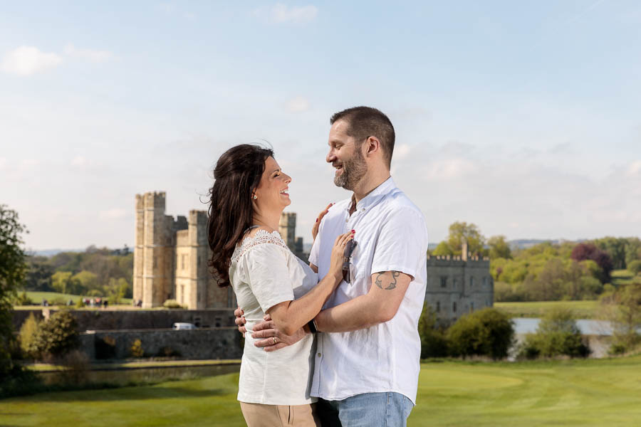 Leeds-Castle-Wedding-Photography-Denise-Paul-Engagement-Photos-www.MykeyDay-Photography.com-5 Leeds Castle Wedding Maidstone Engagement Photography