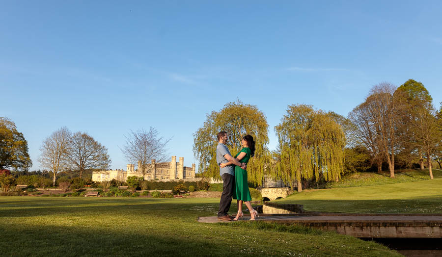 Leeds-Castle-Wedding-Photography-Denise-Paul-Engagement-Photos-www.MykeyDay-Photography.com-50 Leeds Castle Wedding Maidstone Engagement Photography