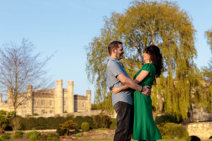 Leeds-Castle-Wedding-Photography-Denise-Paul-Engagement-Photos-www.MykeyDay-Photography.com-51 Leeds Castle Wedding Maidstone Engagement Photography