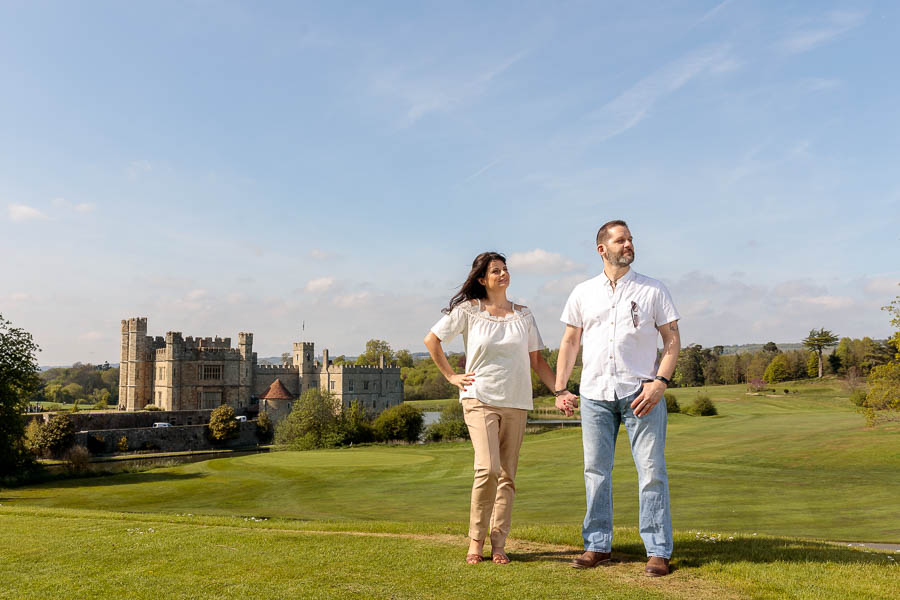 Leeds-Castle-Wedding-Photography-Denise-Paul-Engagement-Photos-www.MykeyDay-Photography.com-7 Leeds Castle Wedding Maidstone Engagement Photography
