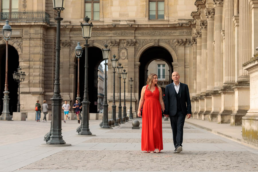 Paris-Pre-Wedding-Engagement-Photography-Louvre-Trocadero-Eiffel-Tower-Engagement-Photos-www.MykeyDay-Photography.com-18 Paris Pre Wedding Engagement Photography