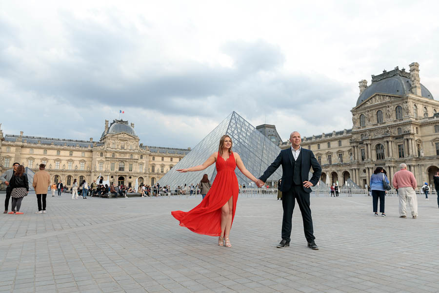 Paris-Pre-Wedding-Engagement-Photography-Louvre-Trocadero-Eiffel-Tower-Engagement-Photos-www.MykeyDay-Photography.com-25 Paris Pre Wedding Engagement Photography