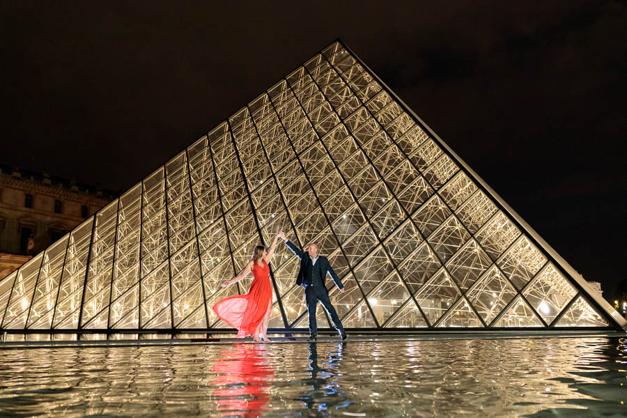 Paris Pre Wedding Engagement Photography | Louvre Trocadero Eiffel Tower Engagement Photos | www.MykeyDay-Photography.com-35