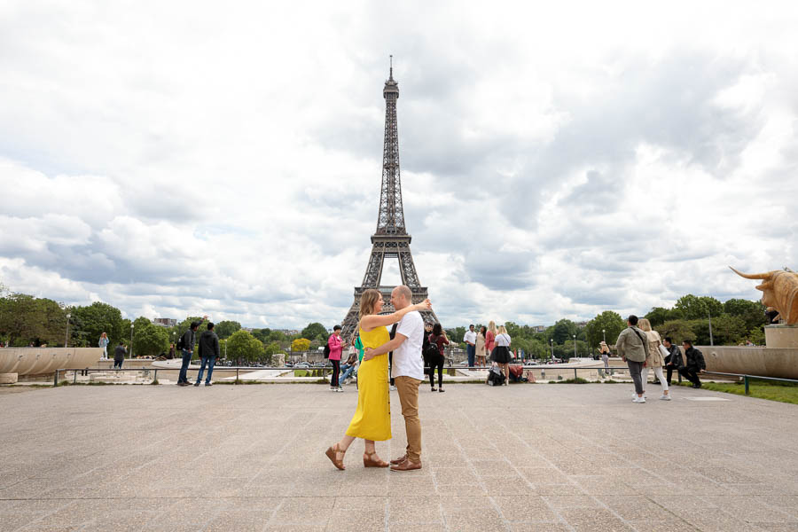 Paris-Pre-Wedding-Engagement-Photography-Louvre-Trocadero-Eiffel-Tower-Engagement-Photos-www.MykeyDay-Photography.com-4 Paris Pre Wedding Engagement Photography