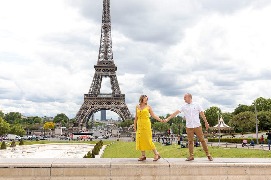 Paris-Pre-Wedding-Engagement-Photography-Louvre-Trocadero-Eiffel-Tower-Engagement-Photos-www.MykeyDay-Photography.com-5 Paris Pre Wedding Engagement Photography