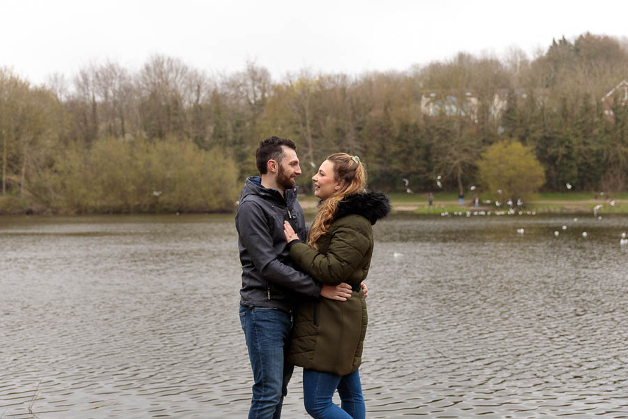 Esme-Steven-Pre-Wedding-Engagement-Photography-Kent-www.MykeyDay-Photography.com-11 Rainy Engagement Photos | London Wedding Photography | Esme & Steven