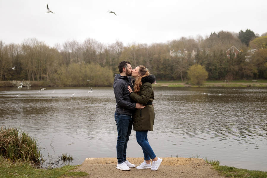 Esme-Steven-Pre-Wedding-Engagement-Photography-Kent-www.MykeyDay-Photography.com-13 Rainy Engagement Photos | London Wedding Photography | Esme & Steven