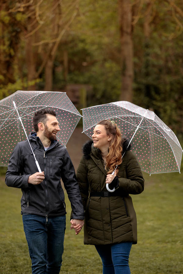 Esme-Steven-Pre-Wedding-Engagement-Photography-Kent-www.MykeyDay-Photography.com-7 Rainy Engagement Photos | London Wedding Photography | Esme & Steven